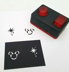 Disney Paper Punch Creative Memories Mickey Mouse Fireworks Scrapbook Card
