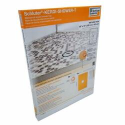 Clearance-schluter Kerdi 48-inchx72-inch Shower Tray With Center Drain Placement