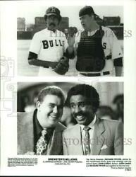 1985 Press Photo John Candy And Richard Pryor In Brewsterand039s Millions Movie