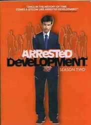 New Arrested Development Season 2 Dvd Tv Show 3 Disc Set The Complete 2nd Second