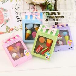 Funny Eraser Stationery Cosmetic For Students School Crude Article Gift Present $36.44