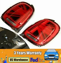 Left And Right Rear Led Tail Lights For 14-18 Mini Cooper F55 F56 F57