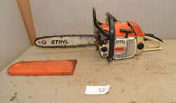 Vintage Stihl 028 Av Logging Chainsaw Collectible Wood Boss Saw Cutting Tool S2