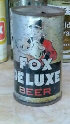 Fox Deluxe Flat Top Beer Can. O/i. Peter Fox Brewing Co. Chicago, Il