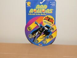 Vintage Toy 1990 Dc Comics Batman Rad Rollers Action Marbles New Old Stock