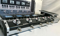Zoom G5 Multi-fx Processor Pedalboard W/ Mods Completely Hands Free Operation