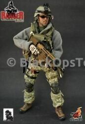 Rare Hot Toys U.s. Army Ranger 75th Ranger Regiment With Mk16 Scar-l Mint In Box