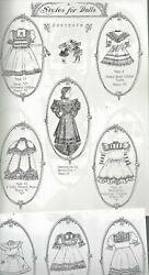 Antique Heirloom French Sew Technique/how To@1880's German Doll Pattern Book