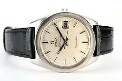 Rare Vintage Omega Seamaster Jumbo 36mm Textured Dial S.steel Automatic Watch