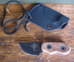 Ontario Knife Co Little Bird Fixed Blade Neck Knife Dealer And Sheathpatch Cutter