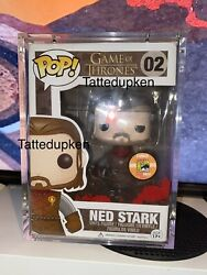Funko Pop Game Of Thrones Headless Ned Stark 02 Sdcc 2013 1008 Piece Real Rare