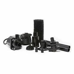 Beckett Corporation 800 Gph Submersible Pond Pump Kit With Prefilter And Nozz...