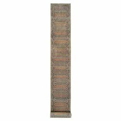 2and0397x21and0399 Beige Sarouk Wool And Sari Silk Hand Knotted Xl Runner Rug R63216
