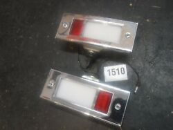 Real 65 66 Ford Interior Door Courtesy Lights Mustang Comet Gt Fairlane Galaxie