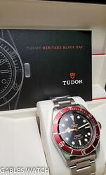 Tudor By Rolex Heritage Black Bay 79220 Steel Automatic 40mm Mens Watch With Box