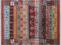 5and039 1 X 6and039 8 Gabbeh Handmade Wool Rug - Q10141
