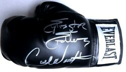 Sylvester Stallone Carl Weathers Signed Autograph Boxing Glove Rocky Psa Aj57611