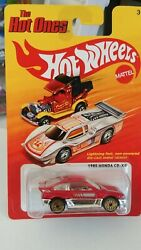 Hot Wheels The Hot Ones And03985 Honda Crx Mint Carded 1/64