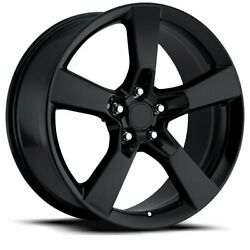 Fits 20 9 Camaro Ss Gloss Black Performance Tires Wheels Rims For 5th 10 - 15