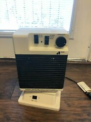 Vintage Arvin Oscillating Electric Heater 1500w And 800w And Fan Model 29h8505