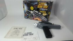 🍊vintage 1994 Star Trek Classic Phaser By Playmates Tested And Working