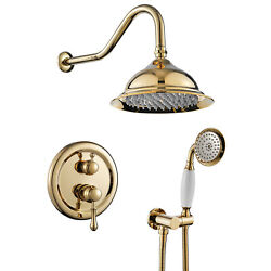 8 Inch Concealed Shower System-2 Mode Filtering Shower Head-easy Installation Us