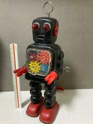 Things At The Time Josiah Gear Robot Currently Operated Products Tin Toy Toys