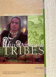 The Gale Encyclopedia Of Native American Tribes 4 Volumes, Hardcover, 1998