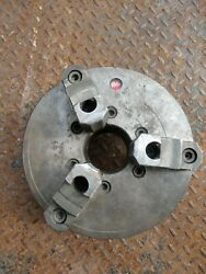 Atlas 10 Lathe 3 Jaw Scroll Chuck With D1-6 Mount