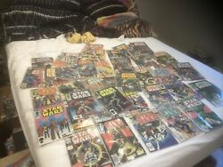 Huge Vintage Star Wars Comic Book Lot Collectible Collection Rare Hard To Find..