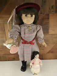 American Girl Samantha Doll Pleasant Company With Clara Doll 1990and039s