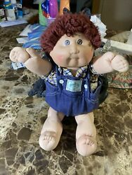 Vintage Cabbage Patch Doll 1978 1982 71r5098 Boy With No Dental Braces 1985