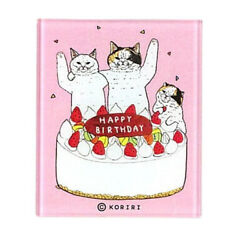 Mysterious Cat World In The Magnets Acrylic Birthday