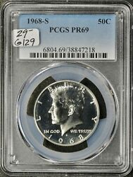 1968-s Kennedy Half. In Pcgs Holder. Proof 69. G129