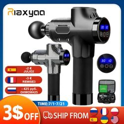 Premium Percussion Handheld Deep Muscle Fitness Electric Massager Gun W/charger