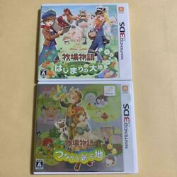 3ds The Story Of Ranch Land Beginning Connectedworld Set