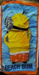 Towel Backpack Beach for Kids Minions Cooler than you Despicable Me. $20.00