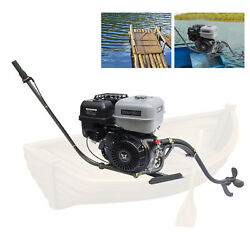 9kw 4-stroke 420cc Gasoline Fishing Outboard Motor Boat Engine With Bracket New