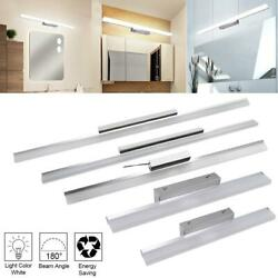 Silver Vanity Led Fixture Bathroom Front Mirror Front Make-up Wall Lamp Modern