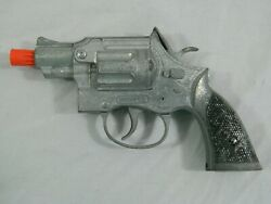 Vintage 50's Hubley Trooper Military Police Toy Cap Gun No Star Diecast Made Usa