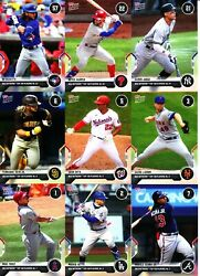 2021 Topps Now MLB Network Top 100 SINGLES Card #s 1 100 U Pick From List $2.95