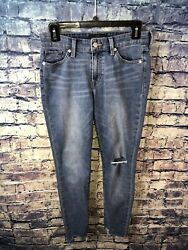 Lucky Brand Ava Skinny Blue Jeans Size 2/26🔥rare Style👀free Shipping💯