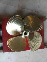 Propeller For Inboard Shaft Drive Mn Bronze 26 Inch X 4 Blad X 23 Pitch X L New