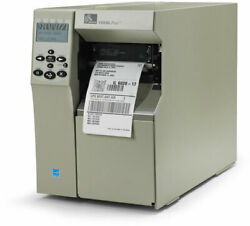 Zebra 105s Plus Thermal Shipping Barcode Label Printer Ebay 4x6 Excellent Condit