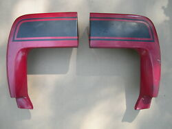 1970 Ford Mustang Mach 1 Fastback - L/h And R/h Quarter Panel Extensions - Oem