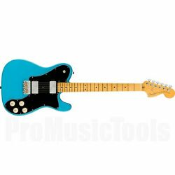 Fender American Professional Ii Telecaster Deluxe Mn - Miami Blue New