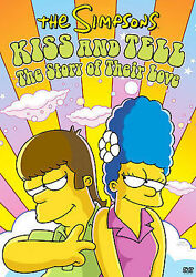 New Simpsons Kiss And Tell Dvd Movie Full Frame The Story Of Their Love