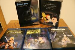 The Family Guy Star Wars Trilogy Blu-ray + Digital Download Discs