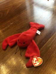 Ty Retired Original Beanie Baby Pinchers Style 4026 Dob 6-19-93 Great Condition