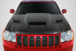 Carbon Creations Hellcat Look Hood Body Kit For 05-10 Jeep Grand Cherokee